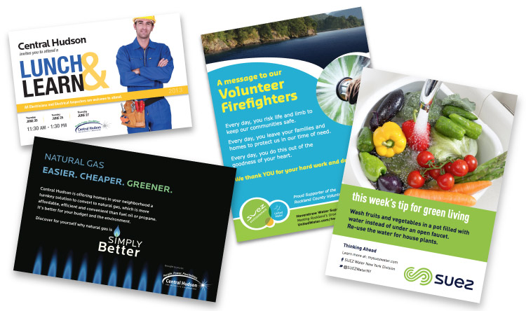 Marketing Materials for Utility Companies