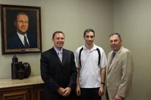 Jason Giordano, George Ponzoni and Frank Giordano Jr.