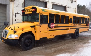 Rolling V Bus Corp. Propane School Bus