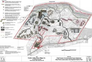Hudson Valley Wine Village Map