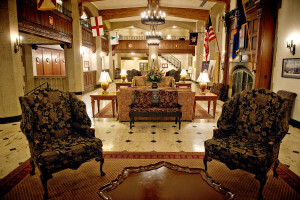The Thayer Hotel Lobby