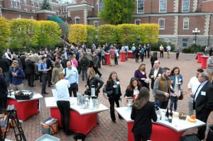 The day concluded with the Thirst & Vine Tasting Area in The Culinary Institute's Beverage Garden Plaza.