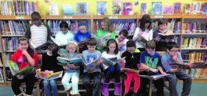 "You always have something to do if you have a good book, as demonstrated by George Grant Mason School's fifth-grade class, which won Orange County ""High Class Total Honors"" in the recent Army Black Knights Reading Program.  Back row, from the left: Chima Oparaji, Alana Gorukanti, Juliana Scanlon, Maya McColgan, Michael McColgan, Grace Donnelly and Parker Givens. Bottom row:  Sophia Ruscillo, left, Raven Castaldi, Anastasia Vishnevskaya, Casey Mulvaney, Emily Ferri, Kaitlyn Kroeber, Shane Bello and Mario Ginis."