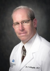 """Dr. John McLaughlin of St. Luke's Cornwall Hospital will speak about joint replacement at the March 31 """"Dinner with the Doctor/All about Joint Replacements"""" at the Glen Arden Continuing Care Retirement Community."""