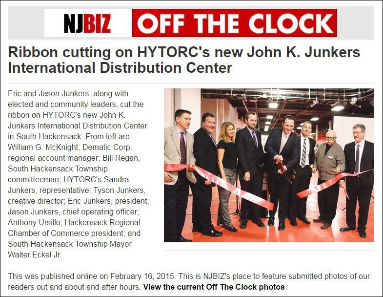 HYTORC in the news