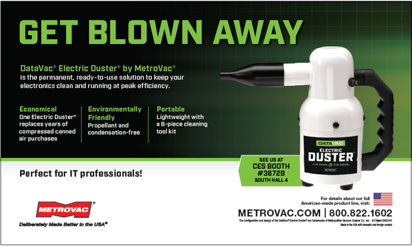 MetroVac - DataVac Electric Duster