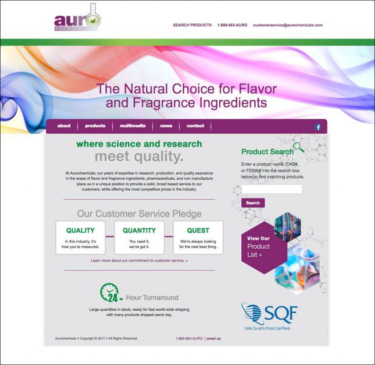 Aurochemicals Flavors and Fragrances