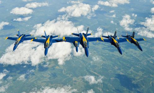 Orange County Tourism Blue Angels
