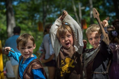 NY Renaissance Faire Kids
