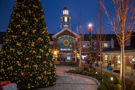 The holidays at Woodbury Common Premium Outlets